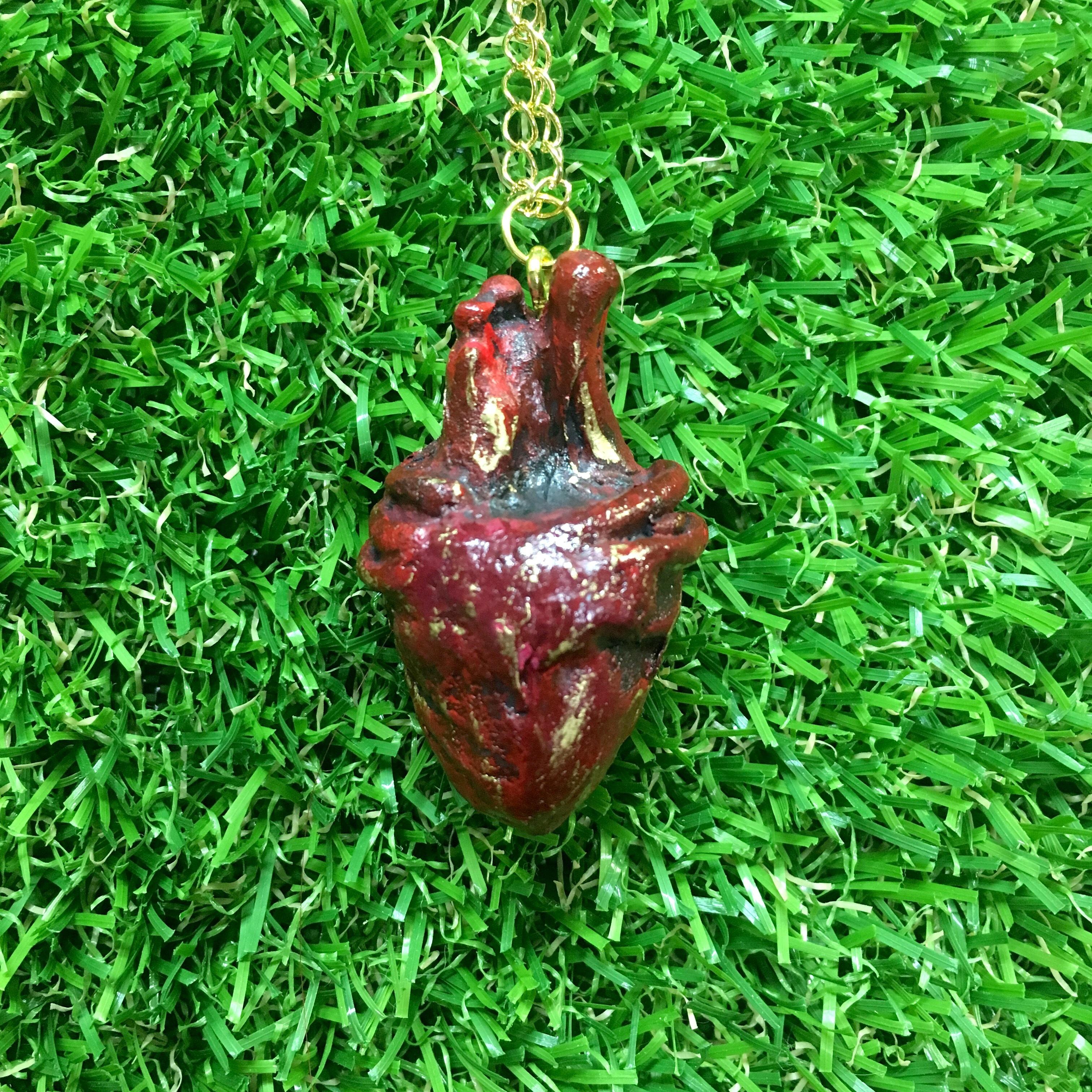 【Qさま/オーダー】心臓ネックレス