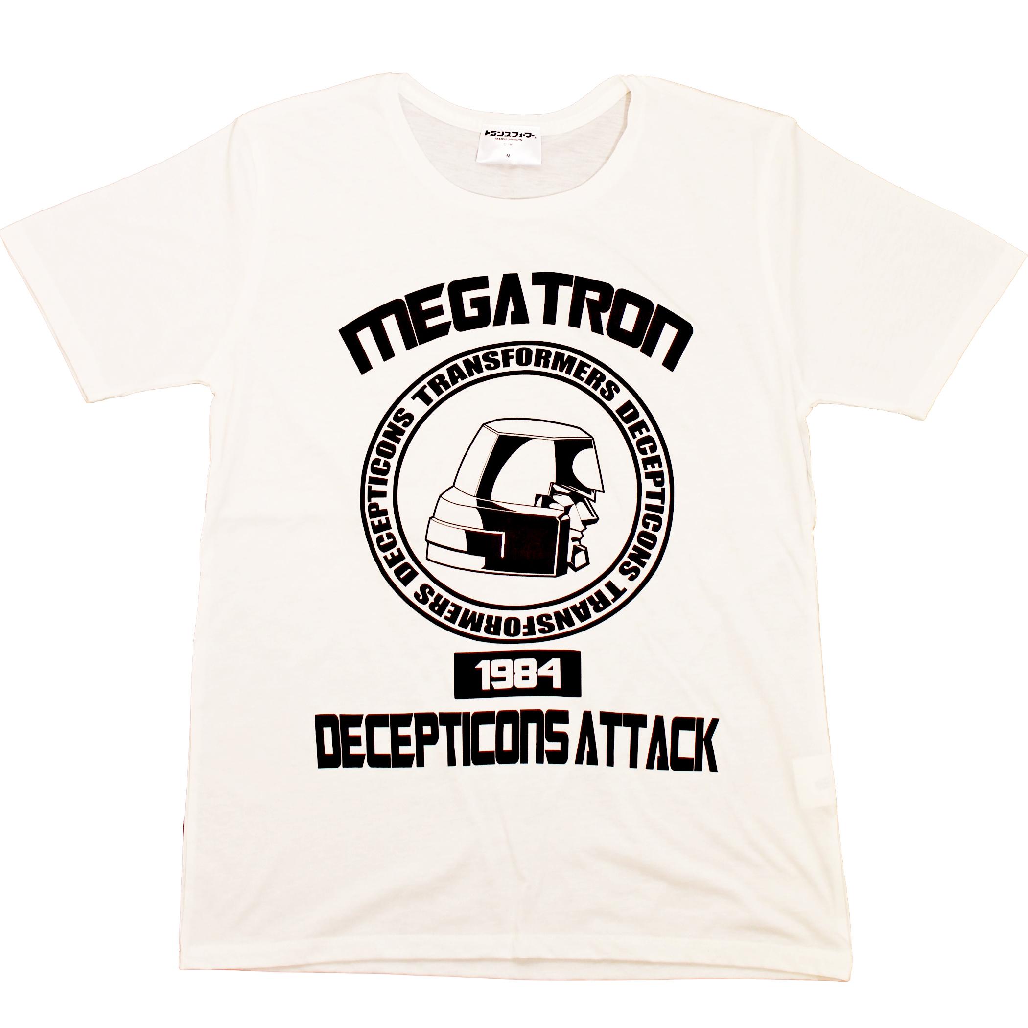 【トランスフォーマー】戦え!超ロボット生命体トランスフォーマー|メガトロンカレッジデザイン Tシャツ