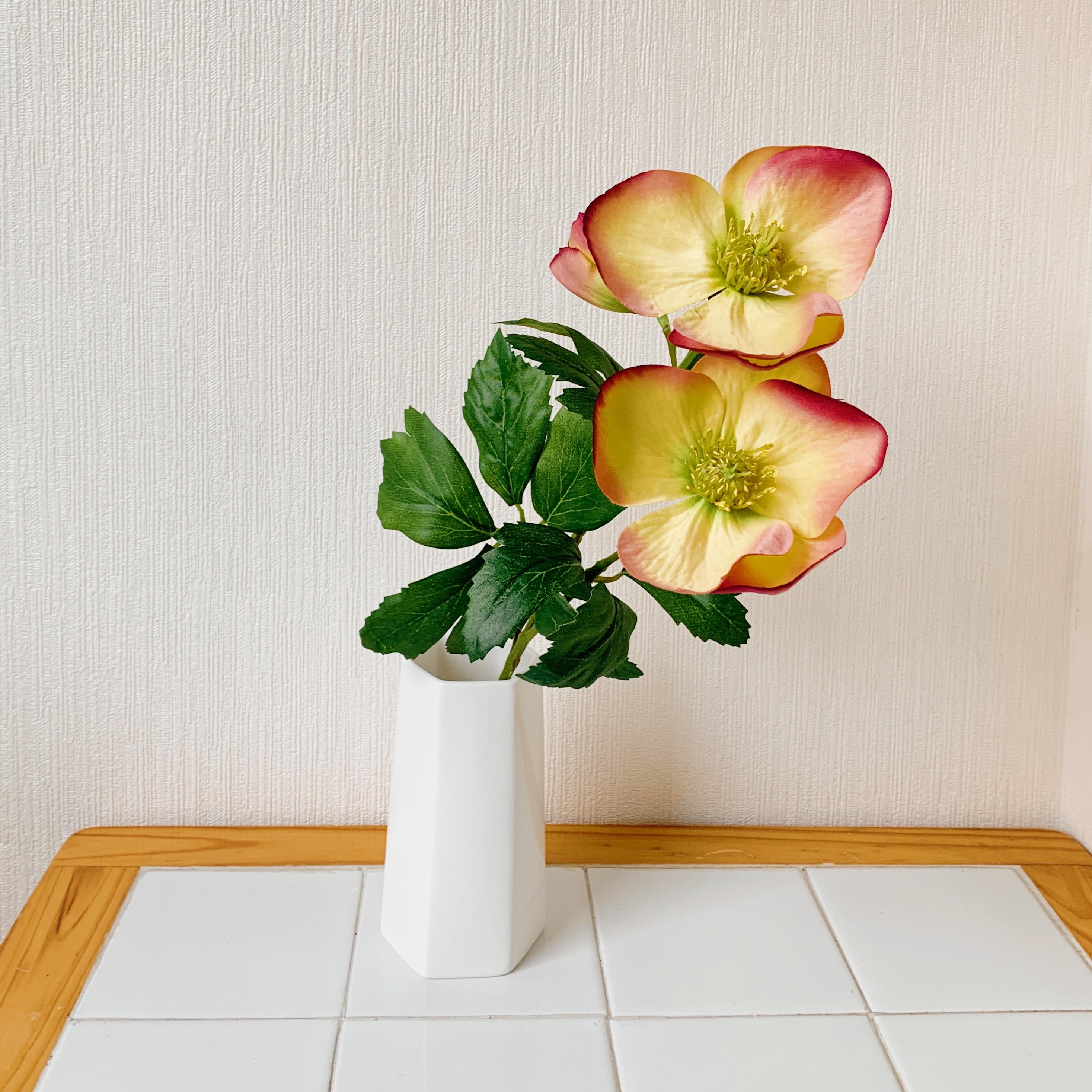 6角形の花瓶