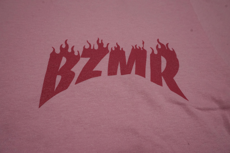 BZMRメラメラTee (モモイロ) - 画像3