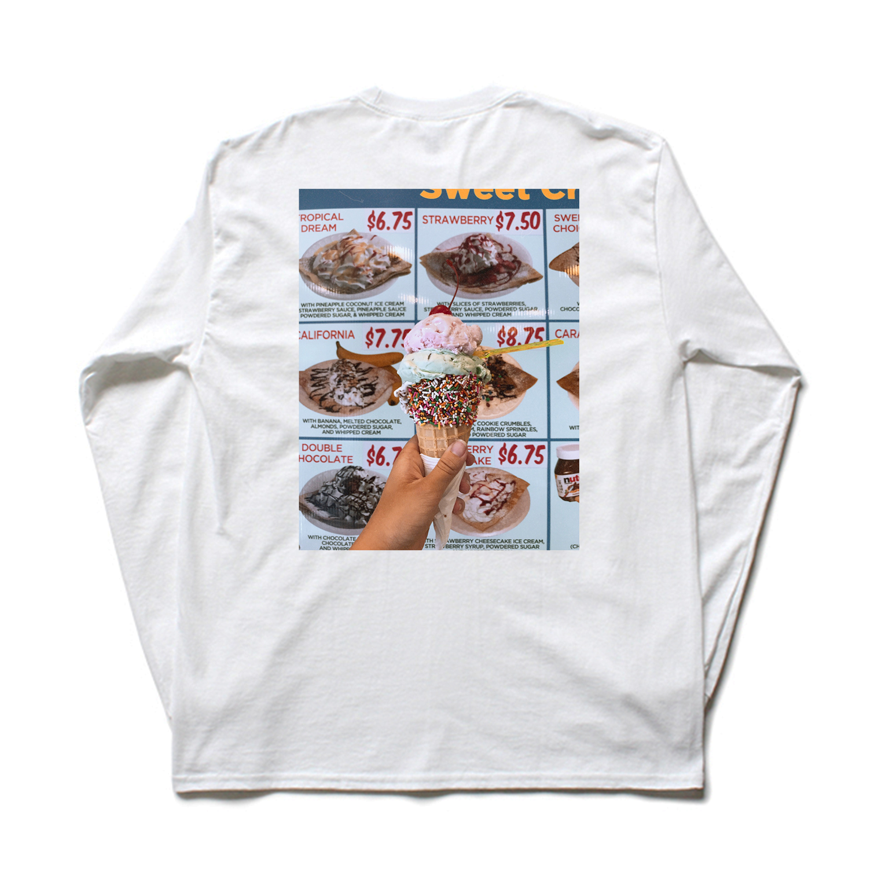 Ice Cream Long Sleeve