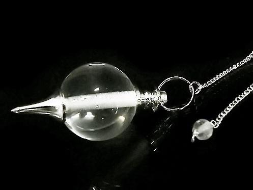 【ダウジング】クリスタル・ペンデュラム(アース型)~大地の力ですべてを見通す