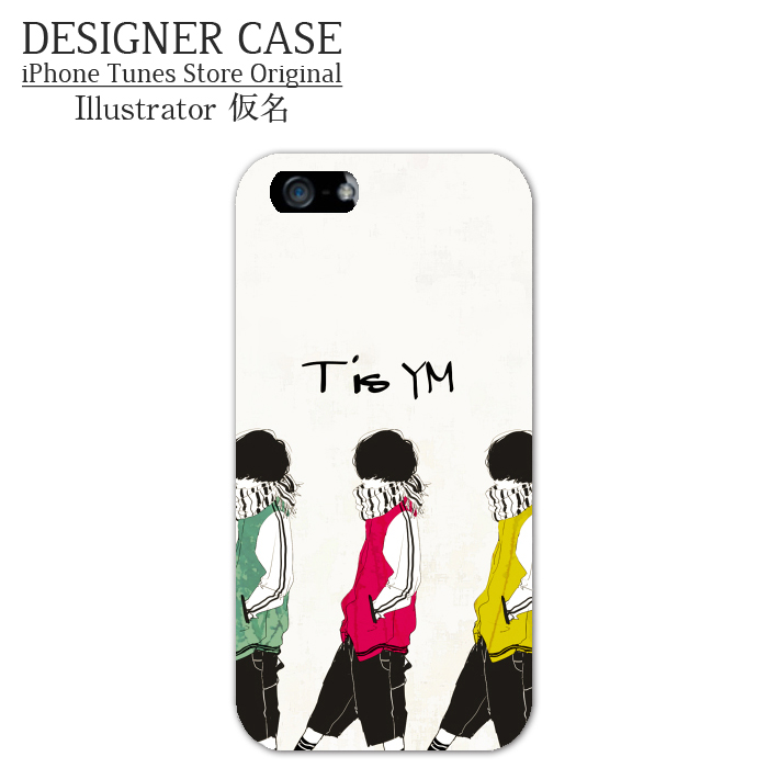 iPhone6 Soft case[TisYM] Illustrator:kamei