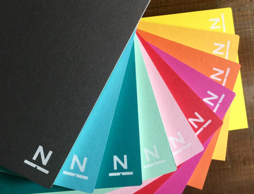 ノンブルノート「N」(14)ダークグレー×ブラック(※2020マンスリー付)