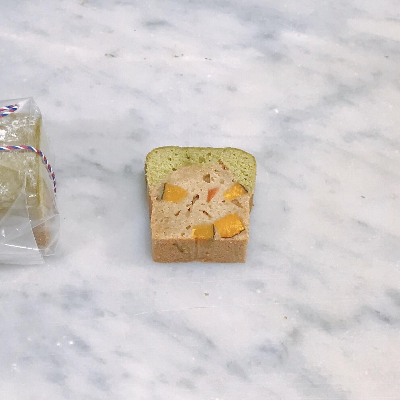 有機野菜とそば粉のパウンドケーキ(緑黄色野菜)