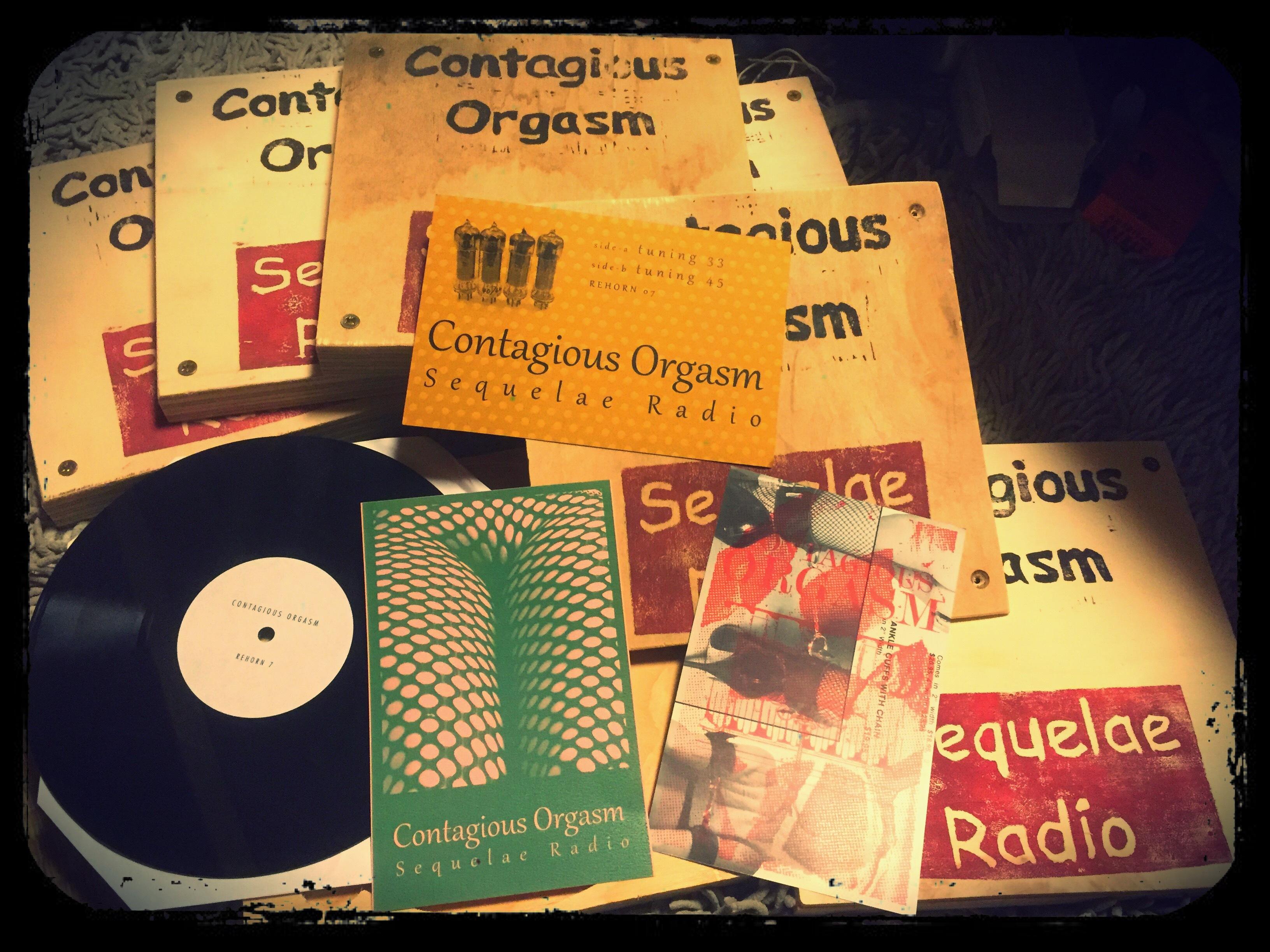 Contagious Orgasm - Sequelae Radio  8インチ Lathe Cut - 画像3