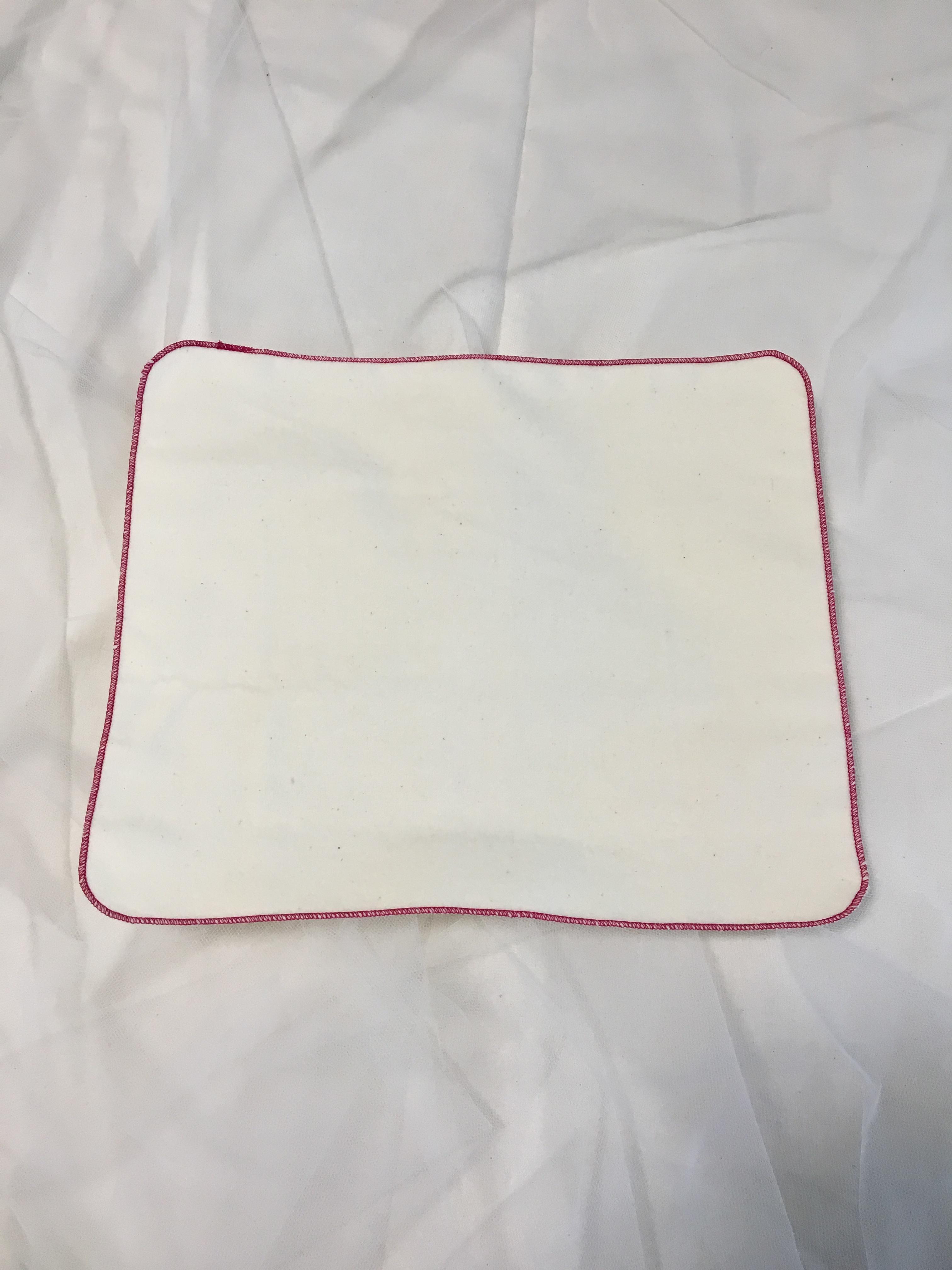 ハンカチタイプの布ナプキン チャクラカラーSET