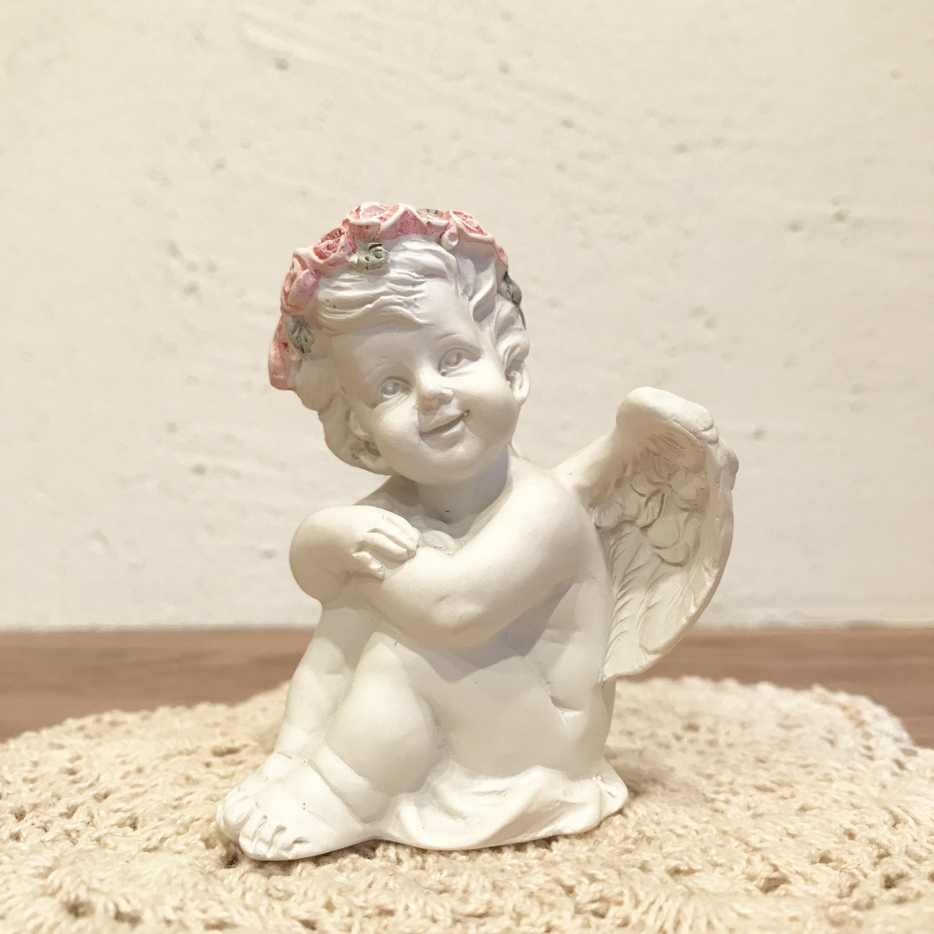 お座り天使A [天使雑貨]