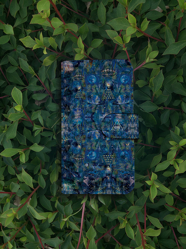 『shinra』マルチ対応手帳型スマホケース「完全オーダー商品」