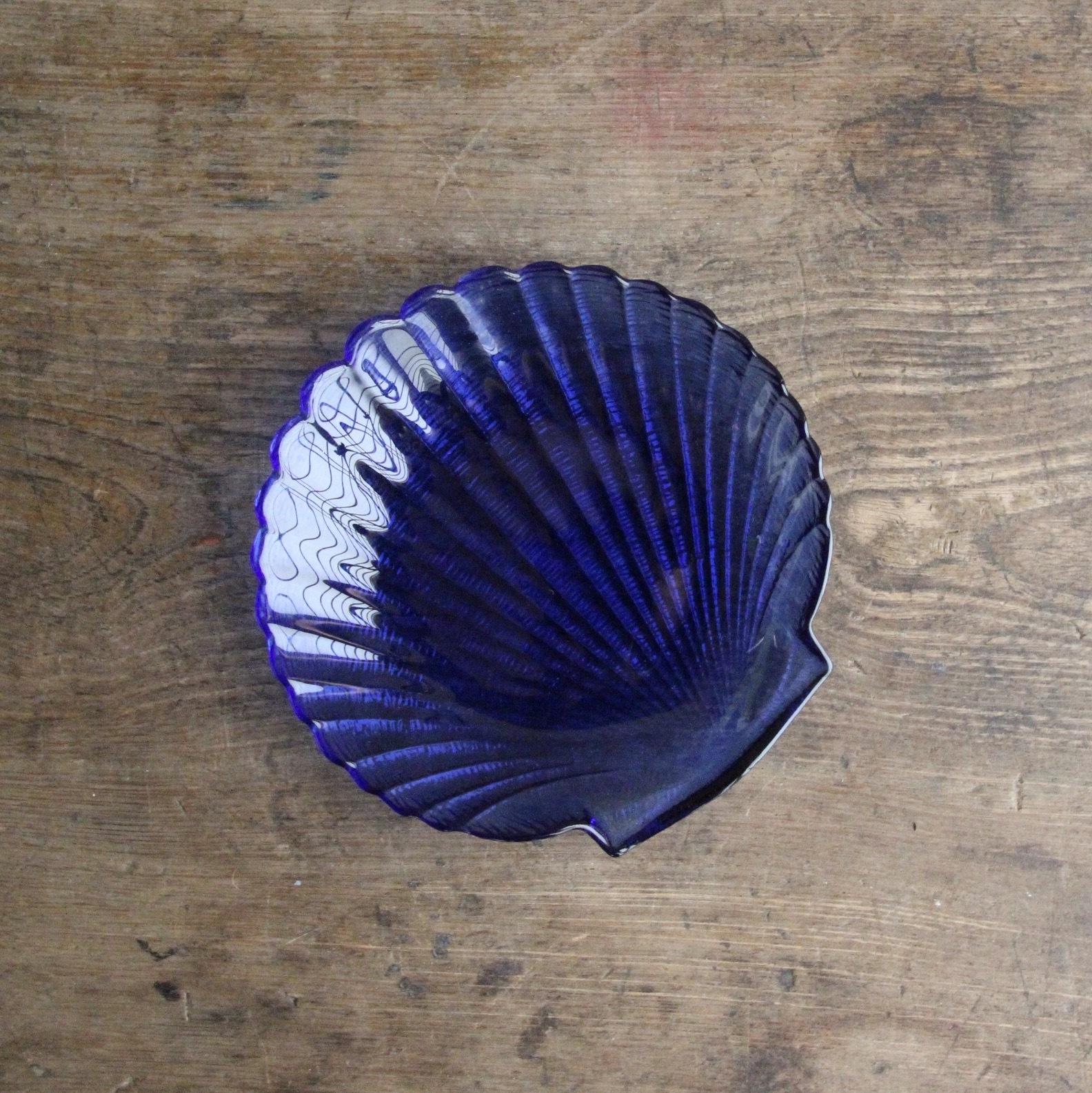 アルコロック 貝殻のガラス皿 在庫3枚