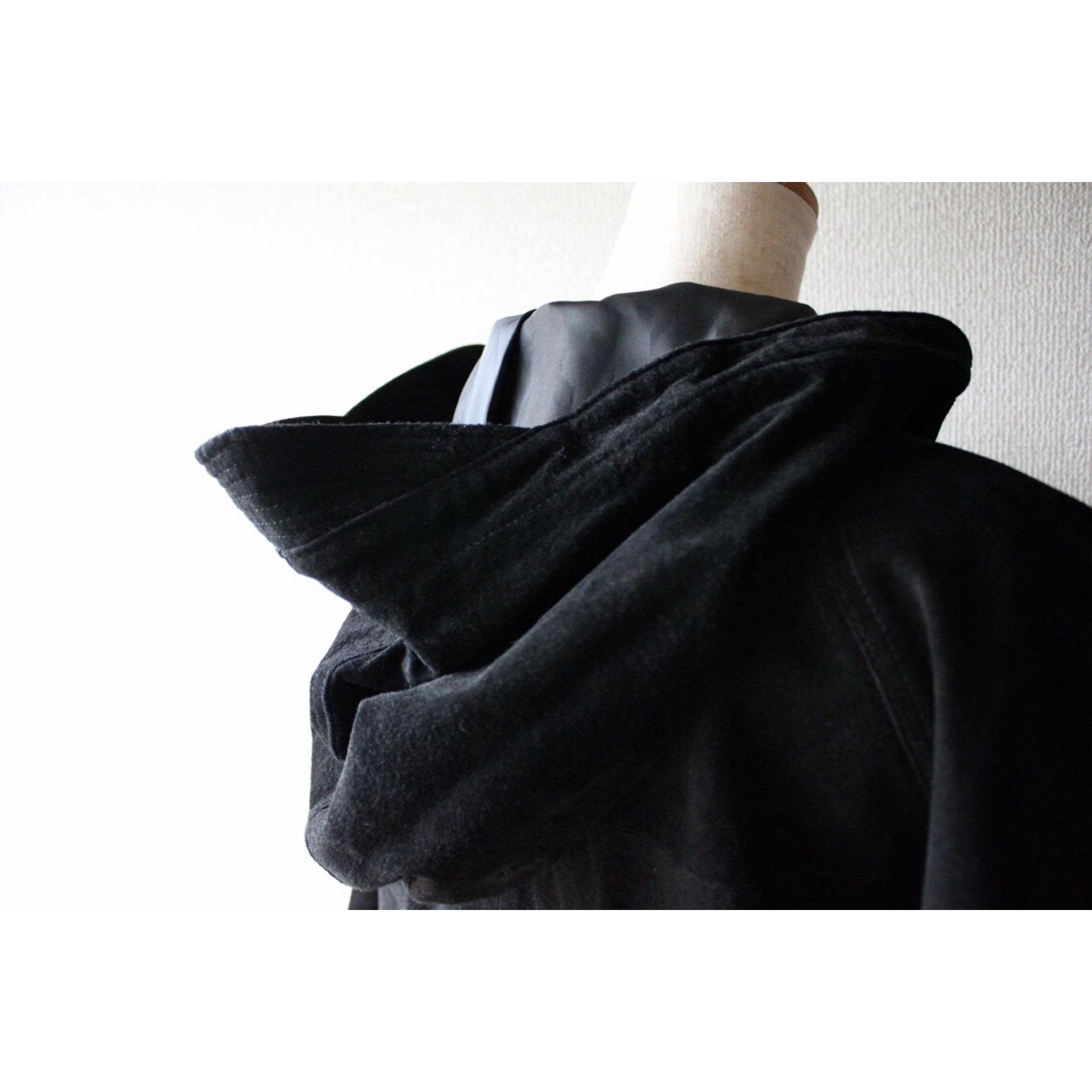 Vintage suede lace up jacket