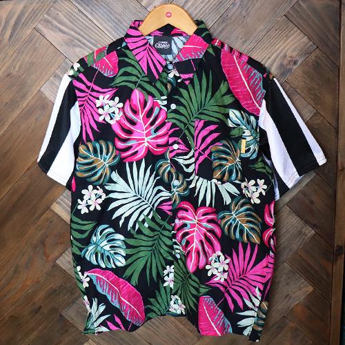 リメイクアロハシャツ 半袖 / ユベントス   SINE METU