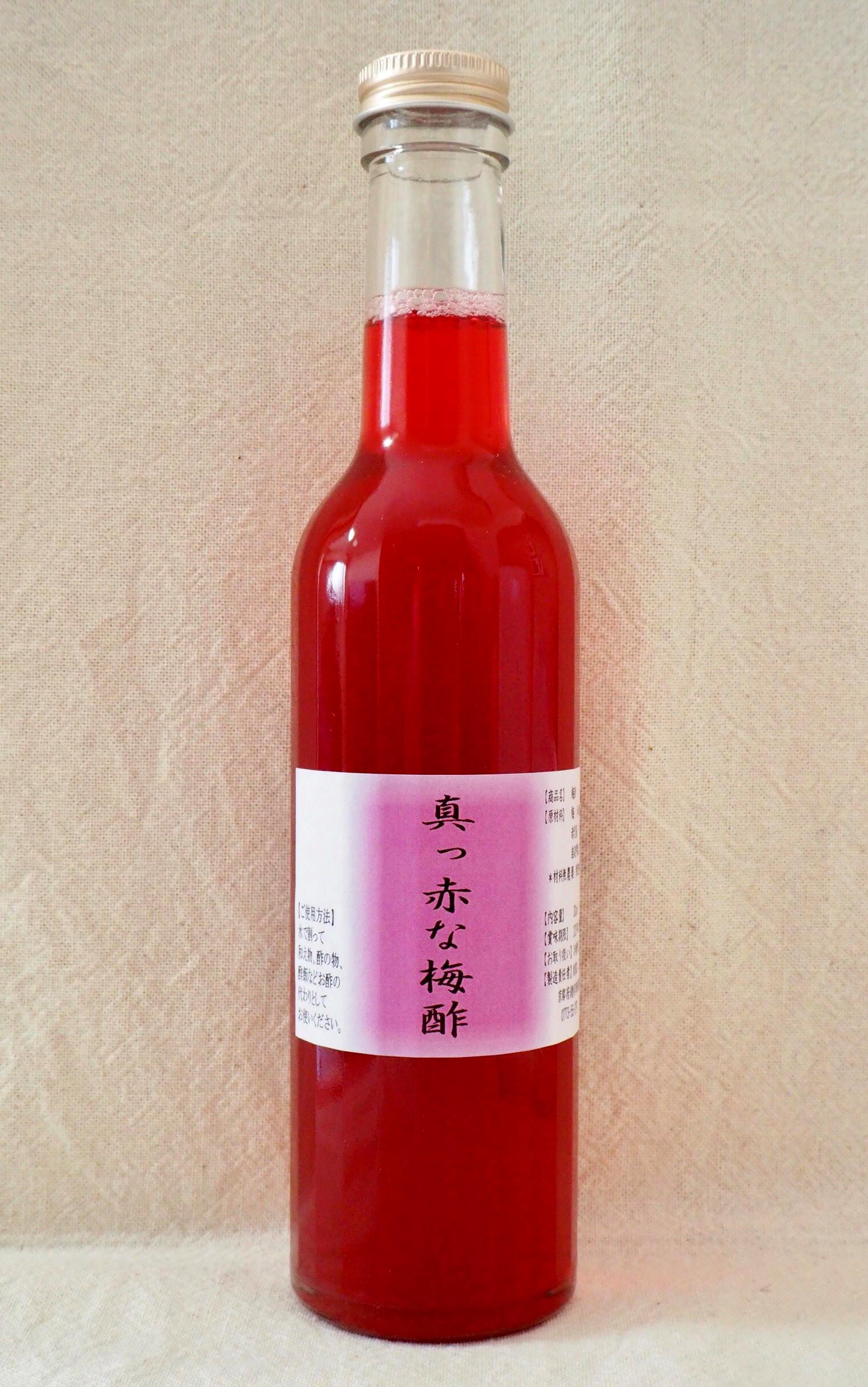 真っ赤な梅酢 300ml