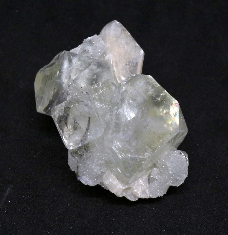 アポフィライト インド産 原石 魚眼石 標本 ゼオライト15.2g ZL001