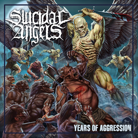 "【特典付き】SUICIDAL ANGELS ""Years Of Aggression"""