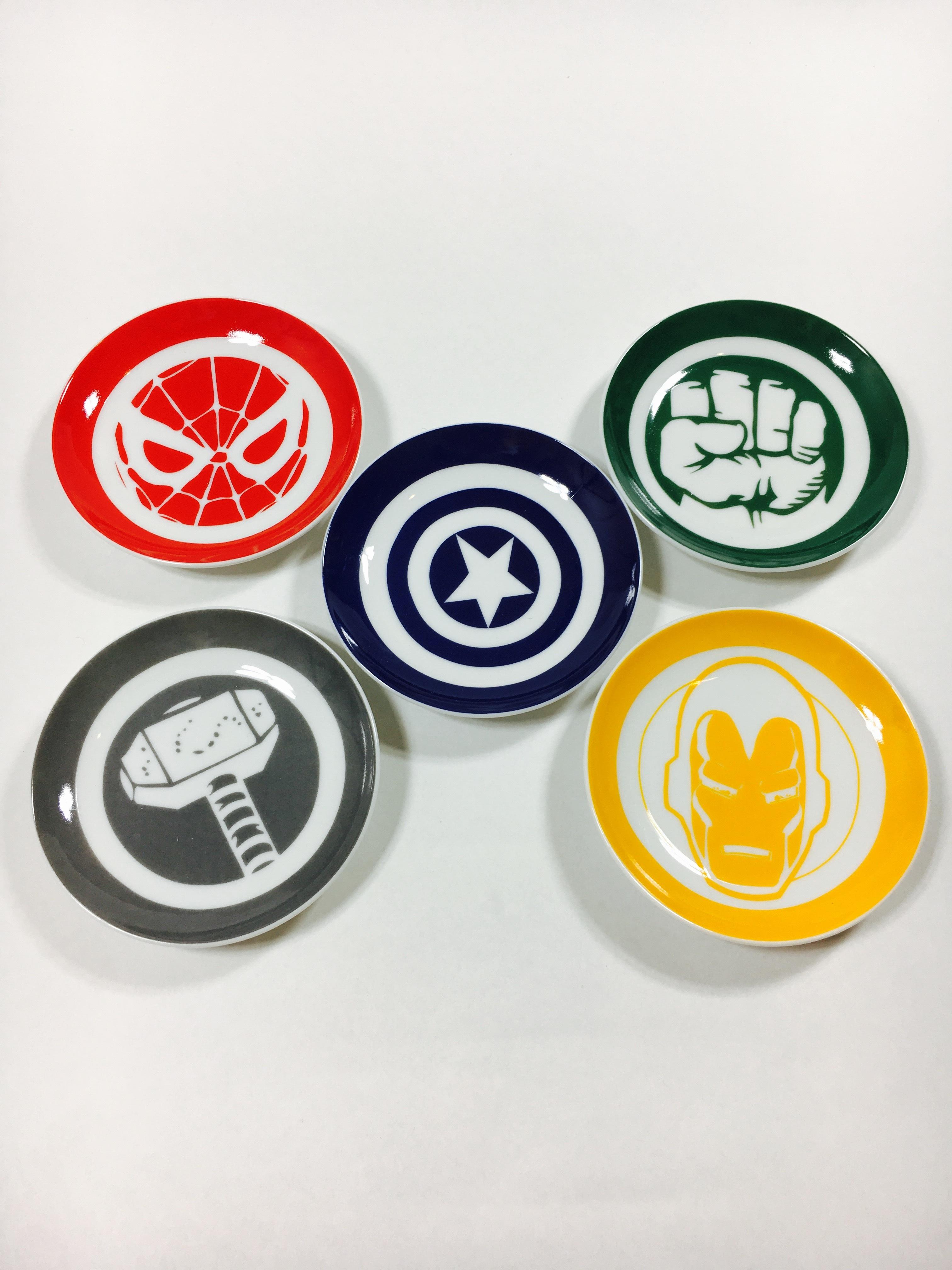 Marvel 小皿セット