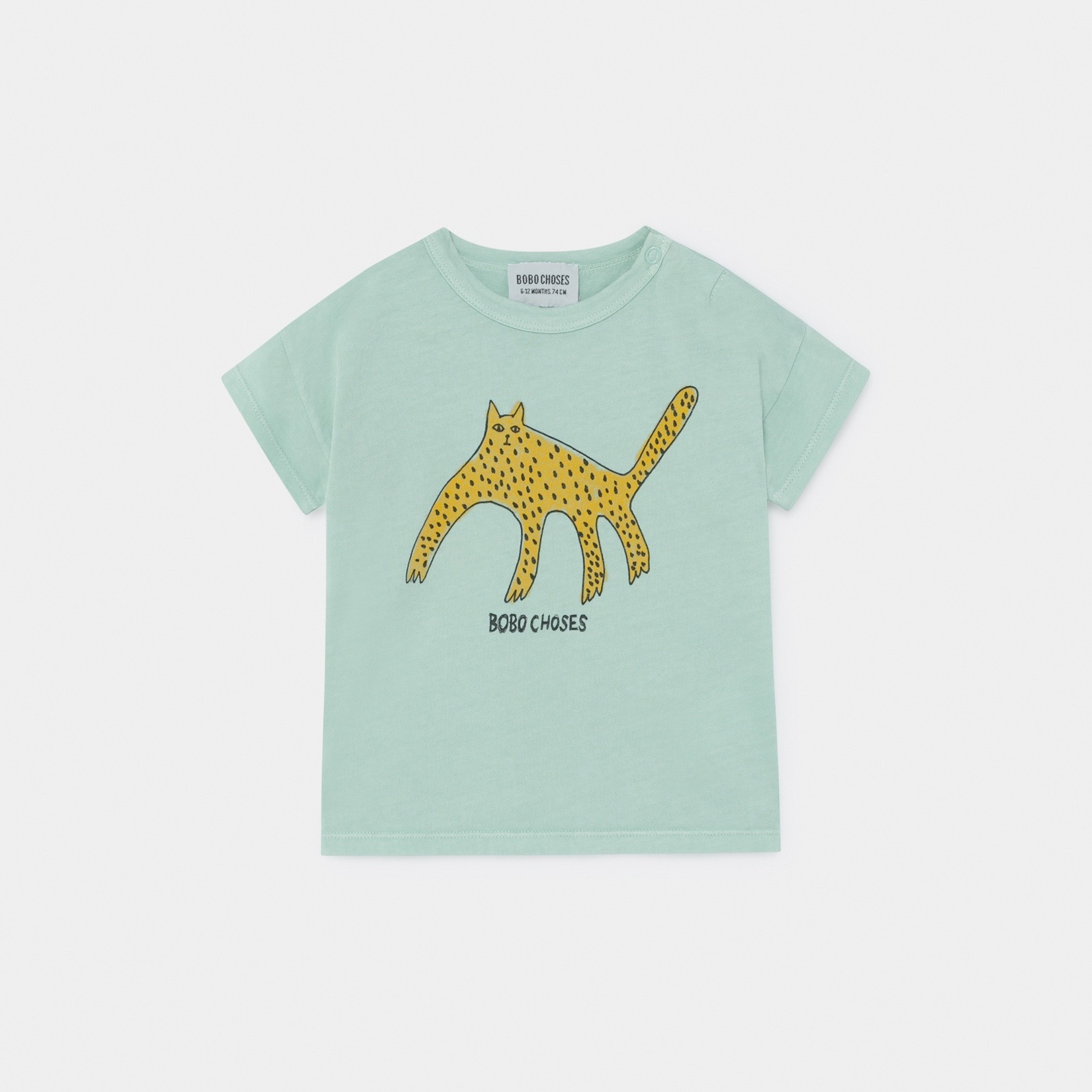 《BOBO CHOSES 2020SS》Leopard T-Shirt / 6-36M