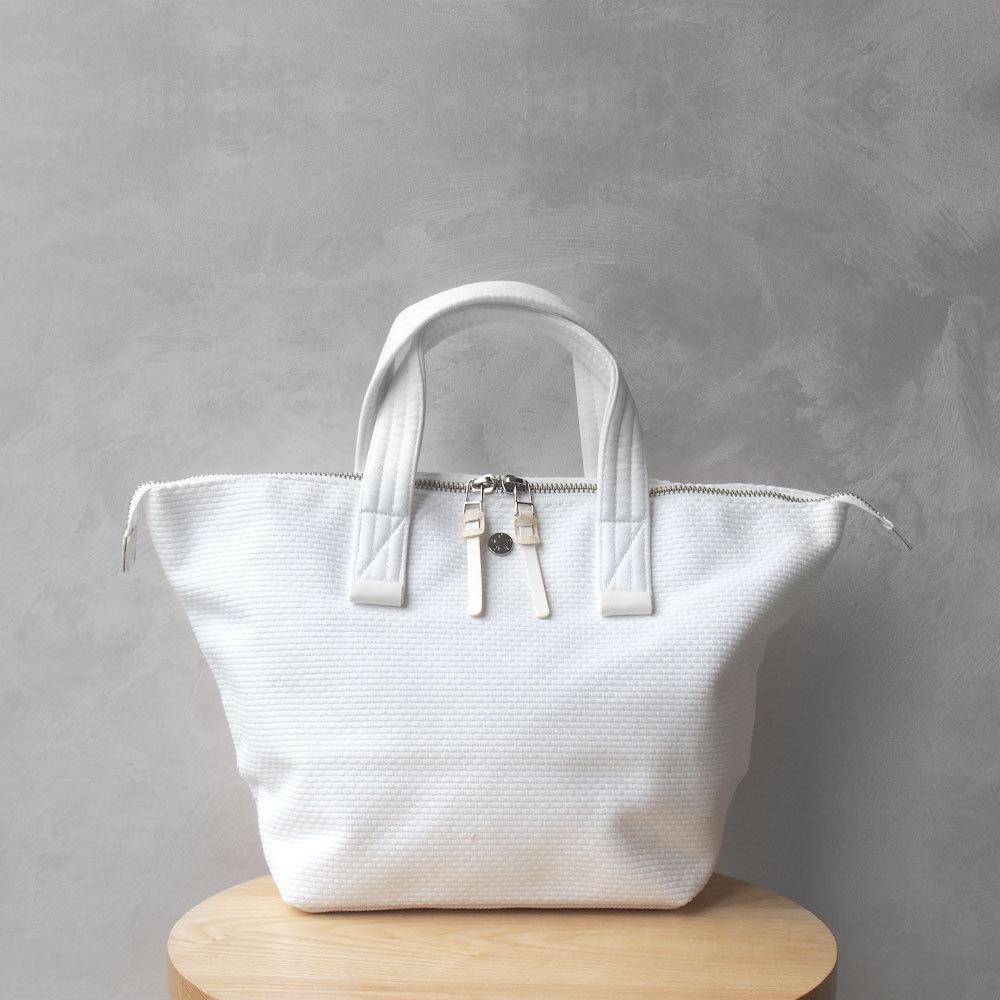 CaBas N°33 Bowler bag small PureWhite