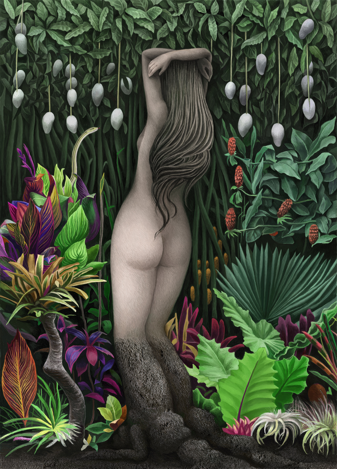 Tropical lady