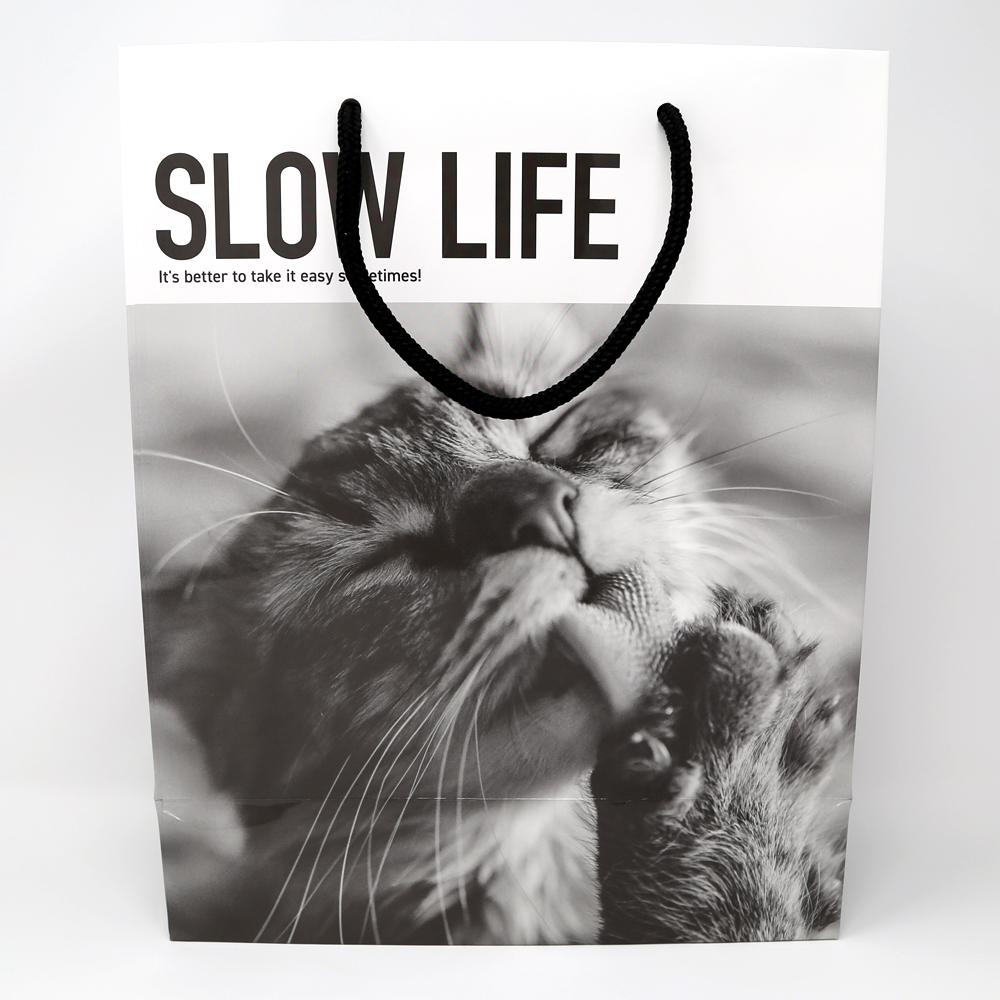 猫紙袋(フィルムコレクションキャット)SLOW LIFE
