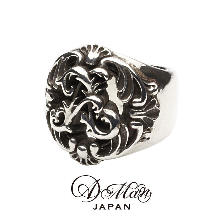 A Man Acanthus Anarchy Ring エーエムエーエヌ アカンサスアナーキーリング