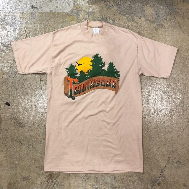 70's Tennessee Print Tee ¥4,000+tax