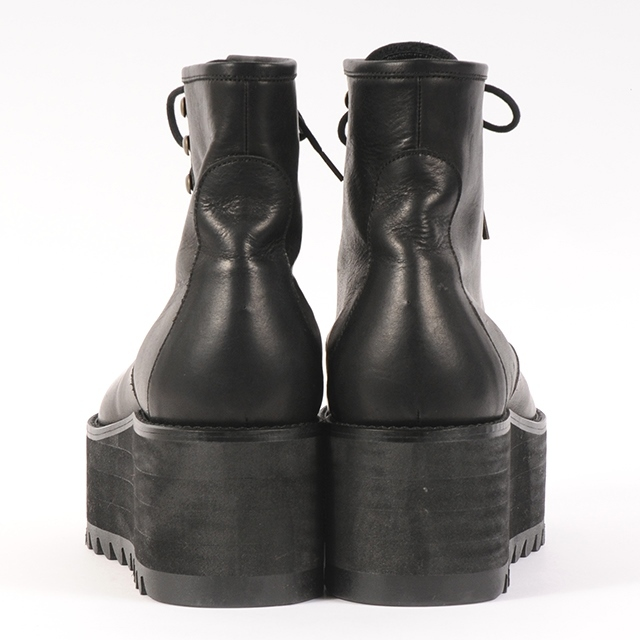 df19SS-S01 LEATHER SS BOOTS (black)