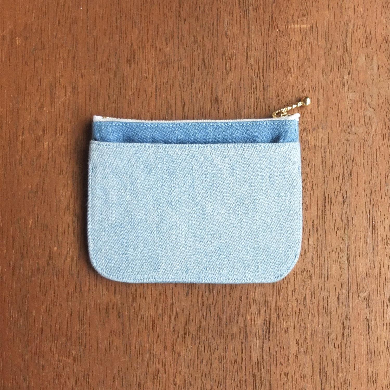 mini財布《 デニム×イロアソビ 》