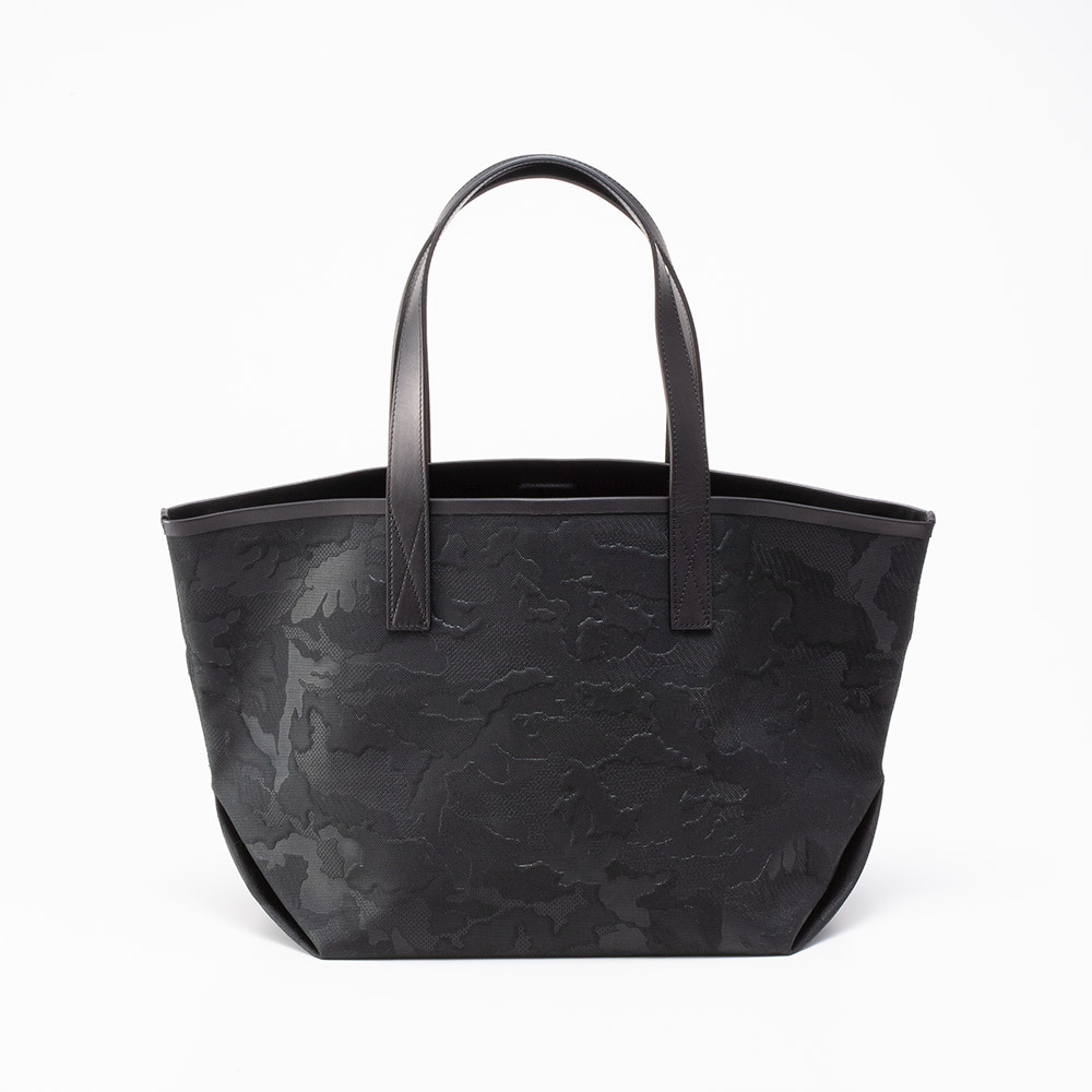GENTIL BANDIT LABEL NOIR CANVAS TOTE MM BLACK