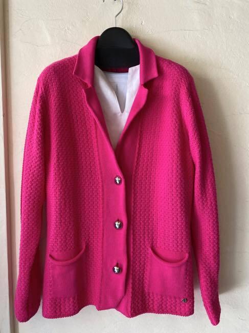 イタリア製MOU  ニットジャケット   ピンク