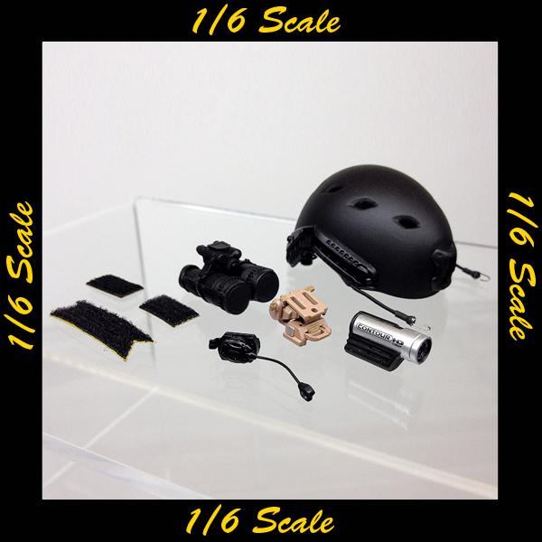 【01236】 1/6 DAMToys U.S. 沿岸警備隊 ヘルメット