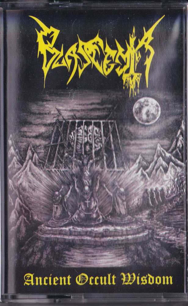 BLASFEMIA 『Ancient Occult Wisdom (Cassette)』