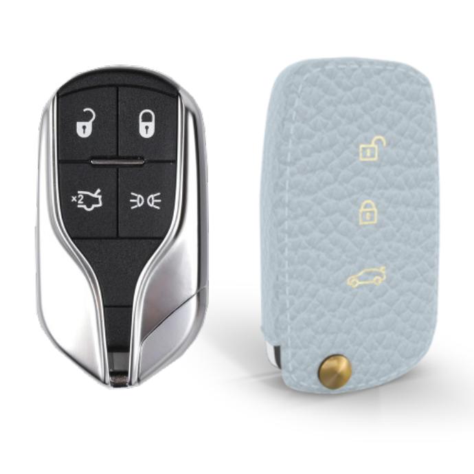 Maserati 専用 TypeA Car Key Case Shrink Leather Case