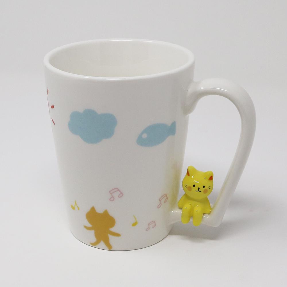 猫マグカップ(ちょこんとマグねこ)