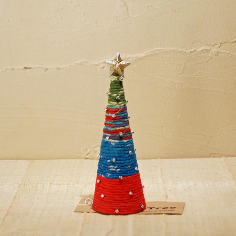 【ピープルツリー】クリスマスリースツリー(小)