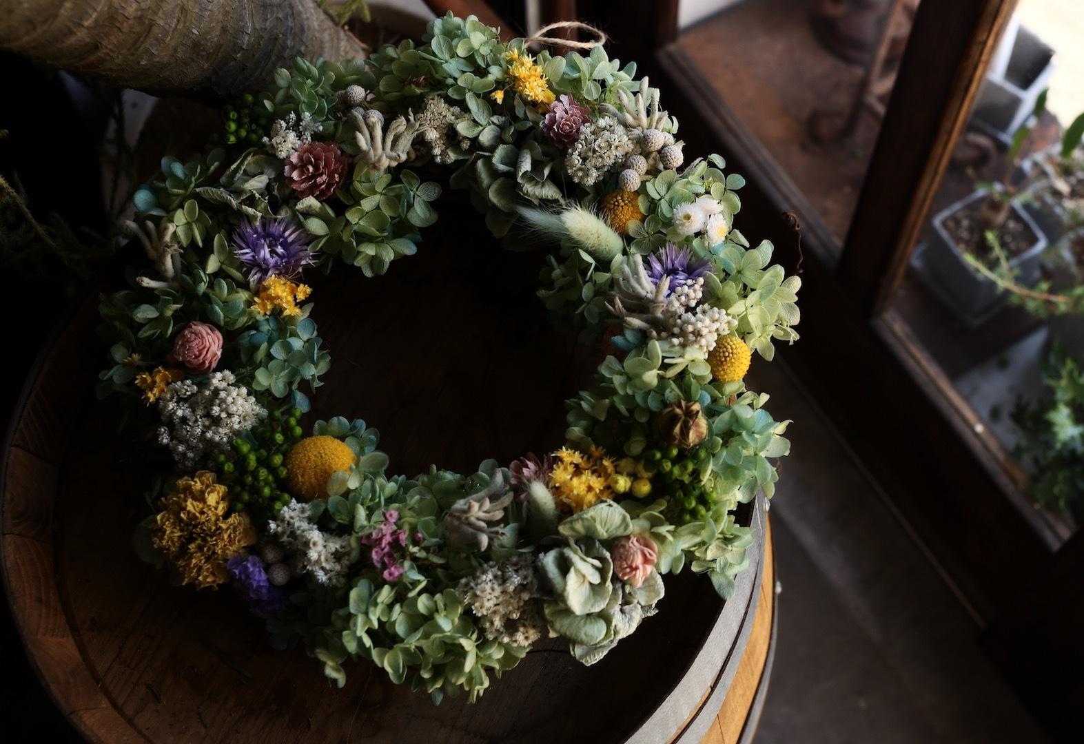 mix wreath