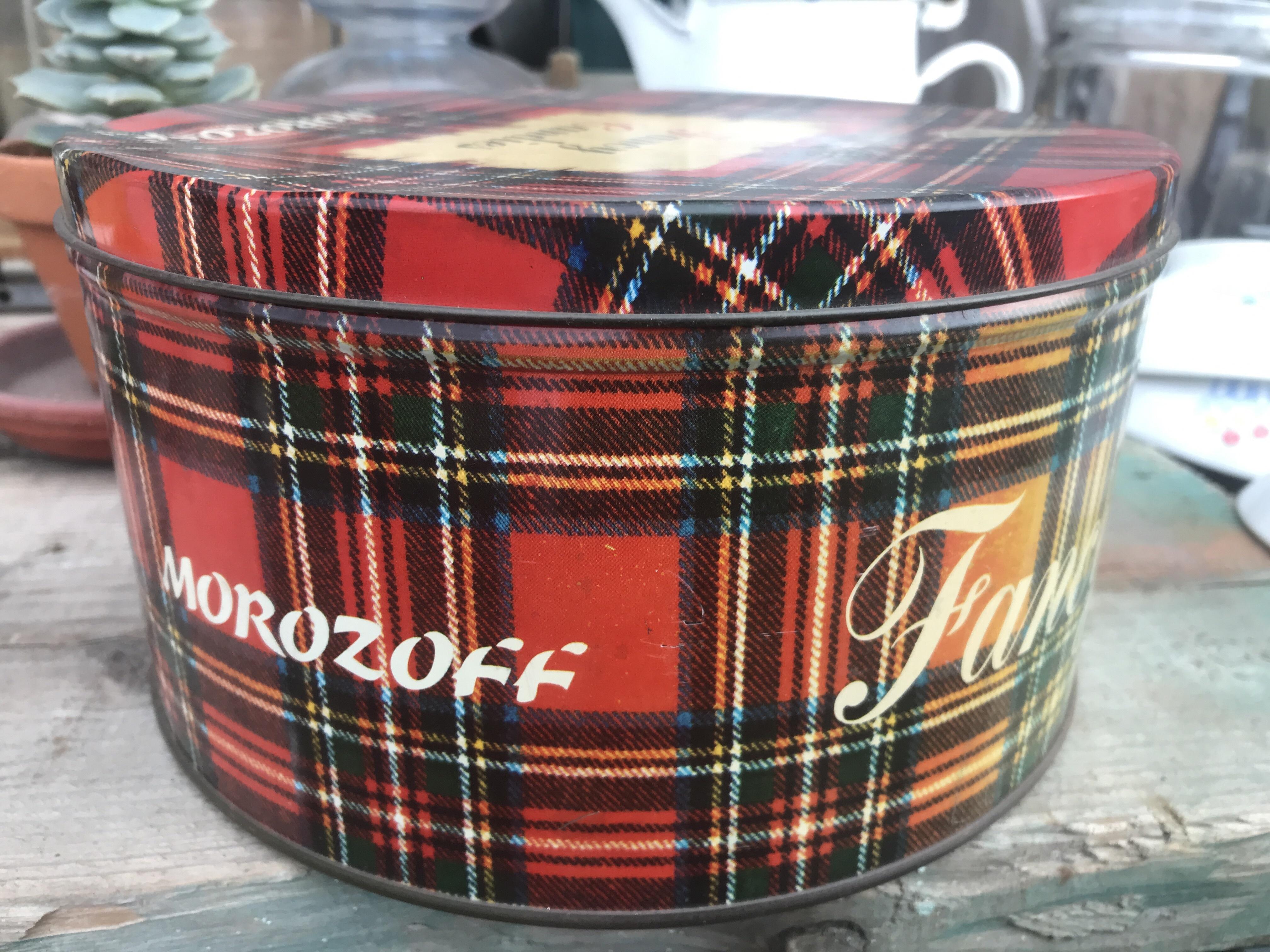 レトロ モロゾフの缶
