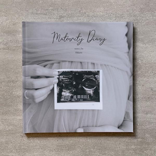 Monochrome-MATERNITY_A4スクエア_10ページ/20カット_クラシックアルバム