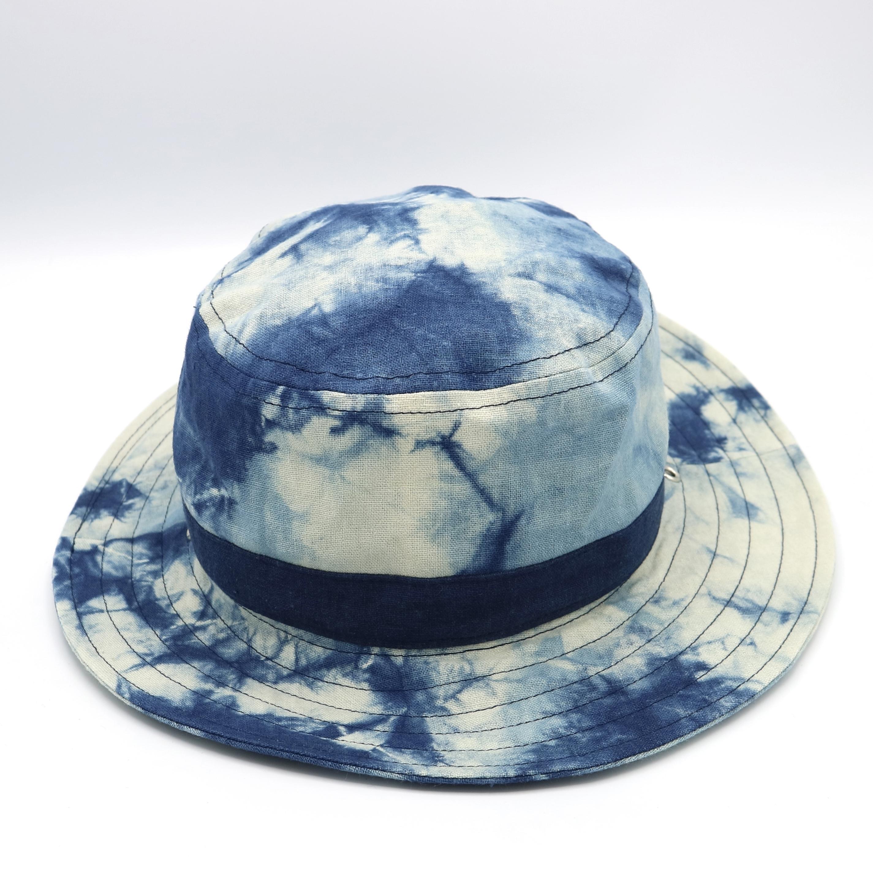 サファリハット/藍染y