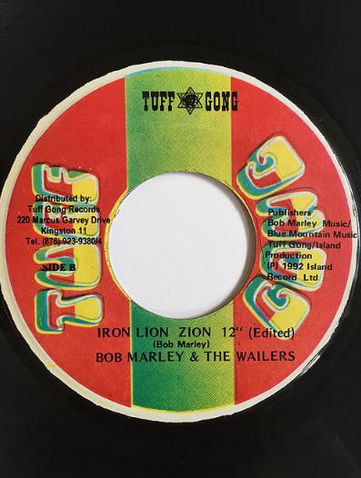 Bob Marley - Iron Lion Zion【7inch】