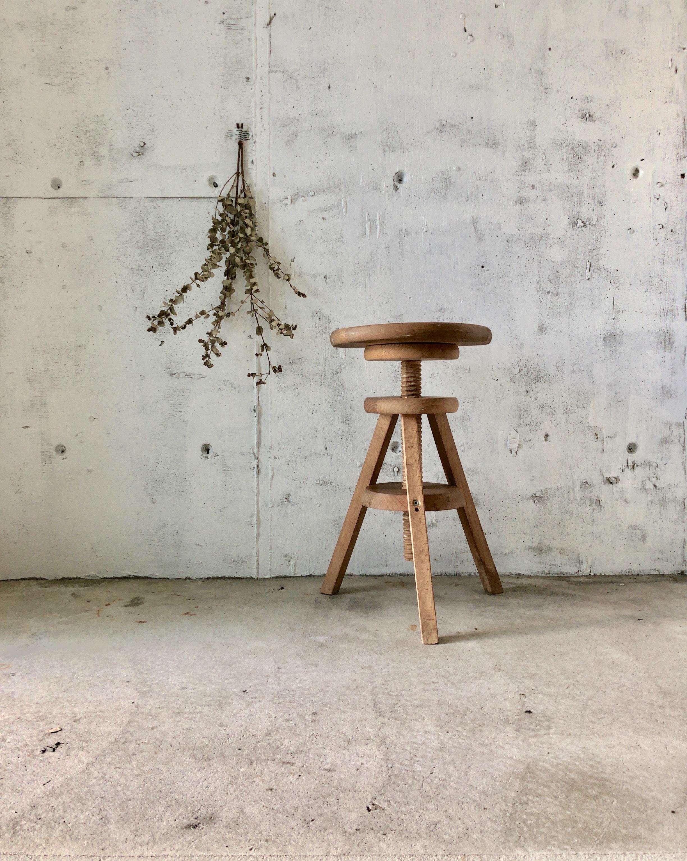 木製の回転椅子[古家具]