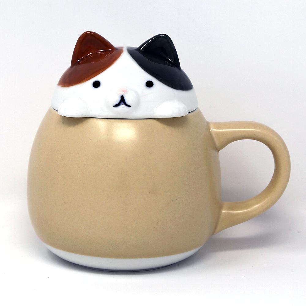 猫マグカップ(すっぽりマグねこ)