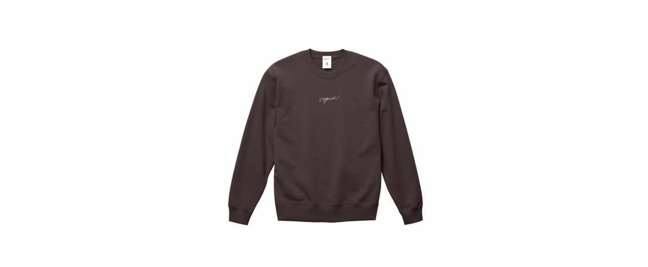 coguchi logo sweat (CHACL)