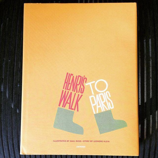 絵本「Henri's Walk to Paris/Leonore Klein、Saul Bass」 - 画像1