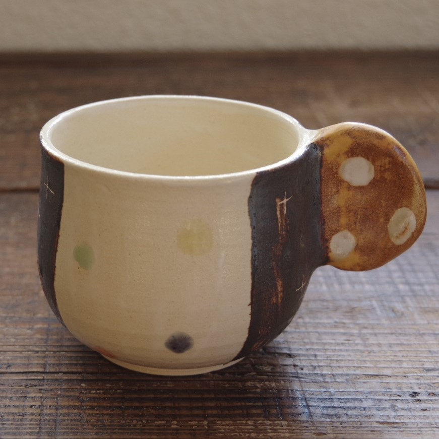 やちむん【小澤早苗】マグカップ