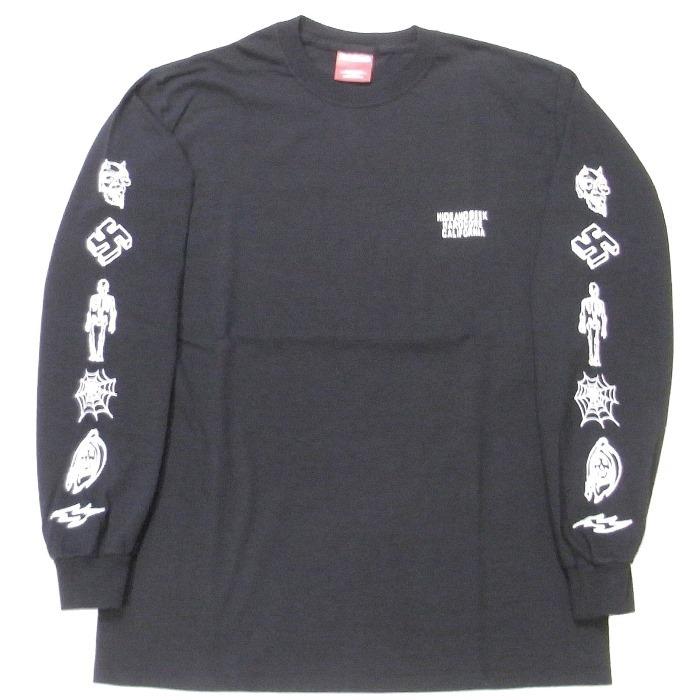HIDEANDSEEK(ハイドアンドシーク) / HARD CORE CAL L/S TEE(HT-030618)(ロングスリーブTシャツ)