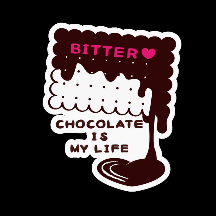 ステッカー*CT99 CHOCOKATE IS MY LIFE*E