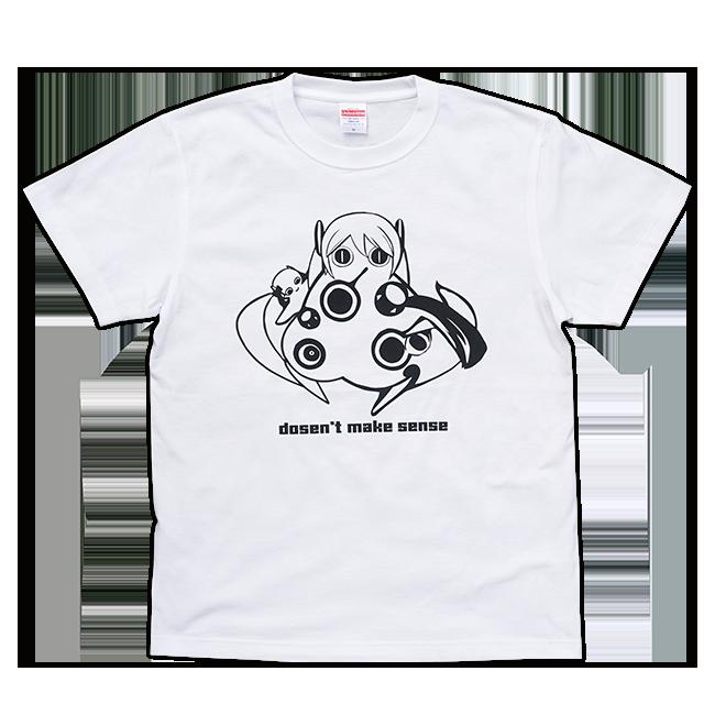 ピノキオピー 意味不明Tシャツ(メンズ / ホワイト) - 画像1