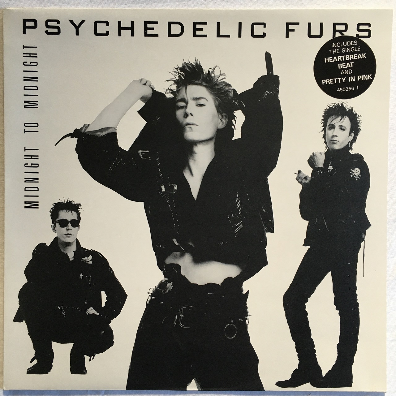 【LP・英盤】The Psychedelic Furs / Midnight To Midnight