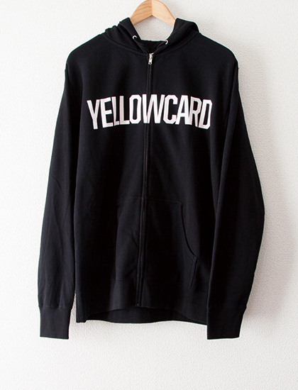 【YELLOWCARD】Soldier Zip Hoodie (Black)